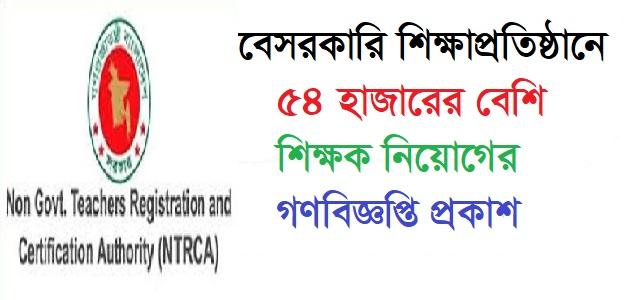 NTRCA Circular 2021