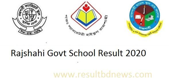 Rajshahi Govt School Result 2020