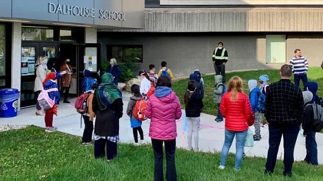 School open in Canada