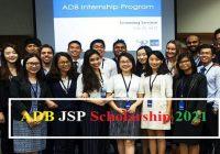 ADB JSP Scholarship 2021